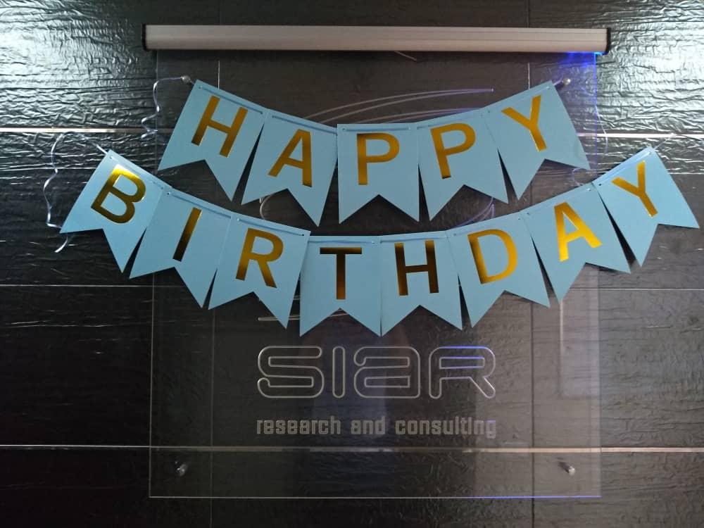С днем рождения, SIAR!